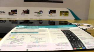 01. Hisense K160 unboxing and installation