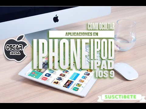 Como Ocultar Aplicaciones en iPhone iPod iPad - iOS 9.2.1