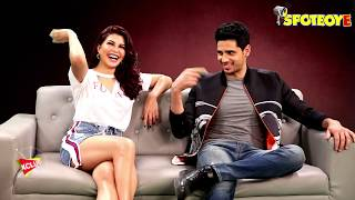 Exclusive Sidharth Malhotra and Jacqueline Fernandez Interview for A Gentleman | SpotboyE