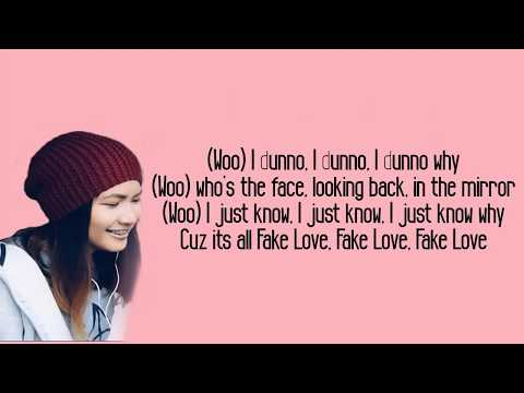 Download Fake Love  BTS  English Cover by Ysabelle Cuevas Lyrics