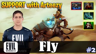 Fly - Chen Offlane | SUPPORT with Arteezy (QOP) | Dota 2 Pro MMR Gameplay #2