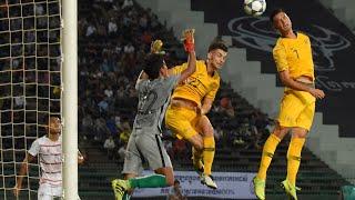 Australia 6-0 Cambodia (AFC U-23 Championship Qualification)