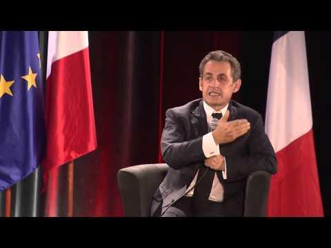 Nicolas Sarkozy à Troyes: un échange direct avec les Français