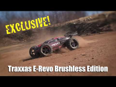 Traxxas E-Revo Brushless Edition 65mph!
