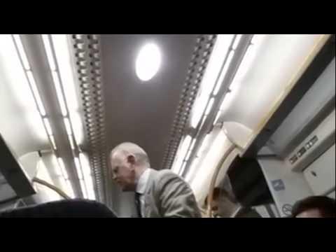 passenger on train