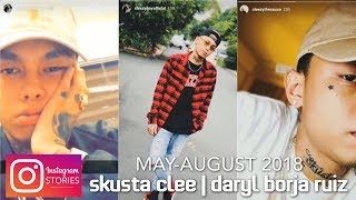 SKUSTA CLEE【Instagram Stories】 [COMPILATION #2: MAY-AUGUST 2018]