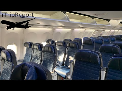 United Airlines 737 900ER Economy Class Trip Report