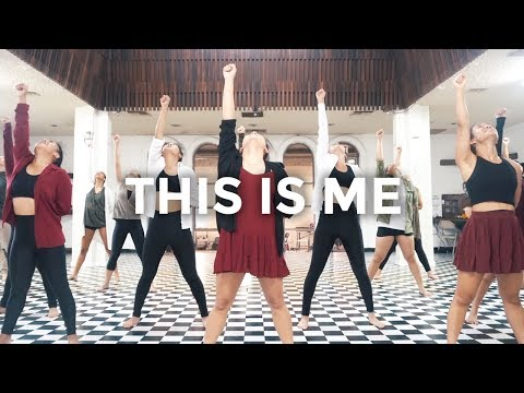 This Is Me - The Greatest Showman, Keala Settle (Dance Video) | @besperon Choreography