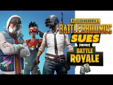 PUBG SUES Fortnite Over Battle Royale! - Game News