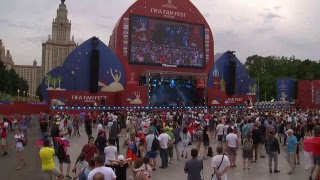 England v Panama: Fans gather for teams' World Cup game – live
