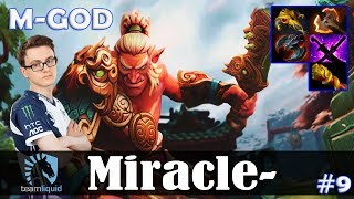 Miracle - Troll Warlord MID | M-GOD | Dota 2 Pro MMR Gameplay #9