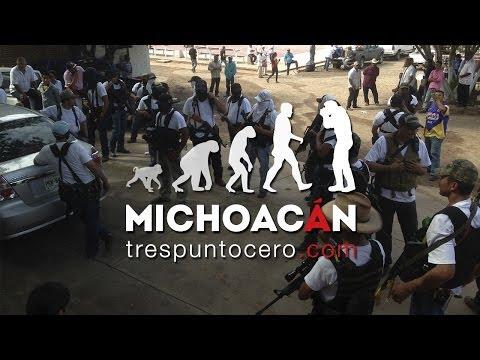 Entrada de Autodefensas a Churumuco y Poturo