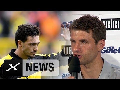 Thomas Müller: Habe Mats Hummels zum FC Bayern gratuliert | Deutscher Block beim FC Bayern München