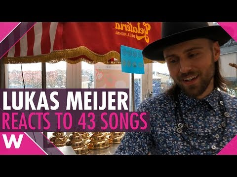Eurovision 2018: Lukas Meijer Reacts to All Songs
