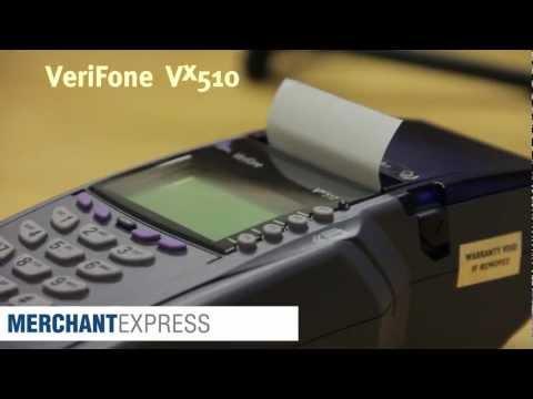 Verifone®  vx510 Credit Card Terminal