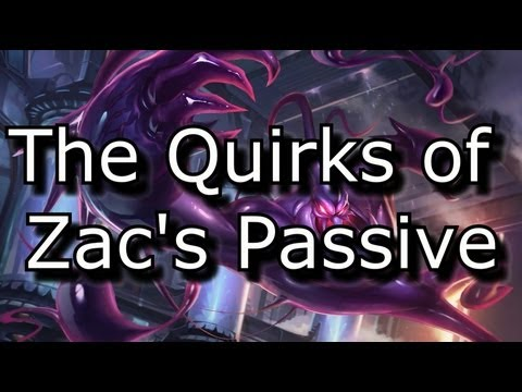 The Quirks of Zac's Passive (Includes an Amazing Teleport Strategy!) | League of Legends LoL