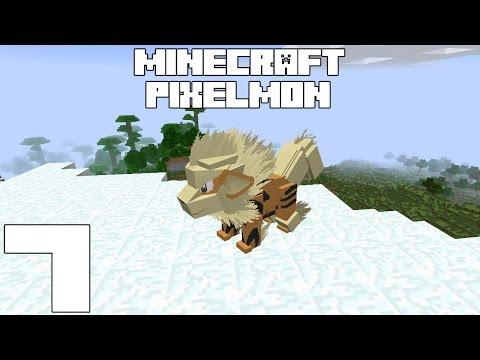 Minecraft PIXELMON! Capitulo 7!