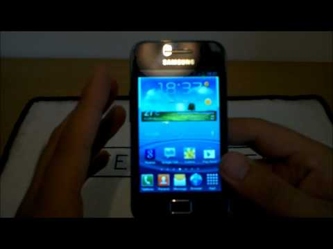Videorecensione Galaxy Ace con Rom ICS S3 Evolution