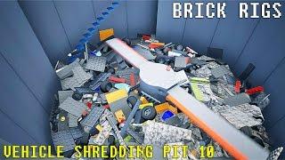 Lego Vehicle Shredding Pit 10 | Brick Rigs