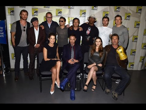 Avenger Age of Ultron Cast Interview Ultron Cast Interviews San