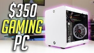 $350 ITX GAMING PC! Plays PUBG, Fortnite, and More!