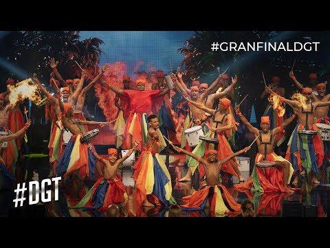 Yucahú revive nuestra herencia ritmica | Dominicana´s Got Talent 2019