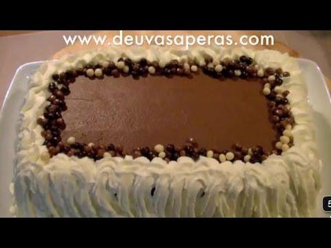Tarta de Cumpleaños de Chocolate y Galletas - YouTube