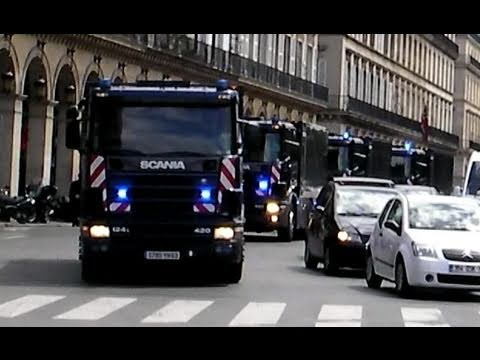 Massive Money Transfer: Police Motorcycles Escort Bank Vehicles Music Videos