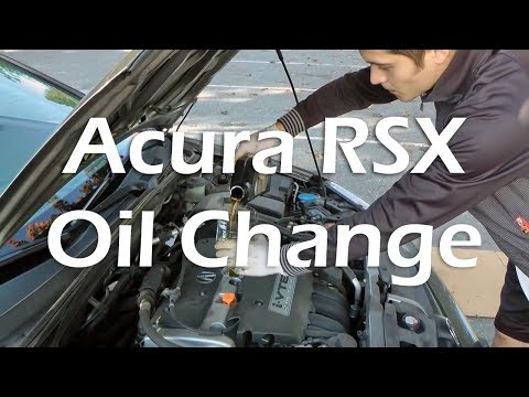 Open Road Acura on Tutorial  How To Change Oil In Acura Rsx  Step By Step Tutorial