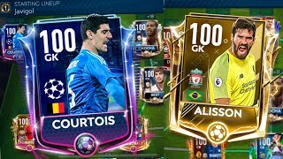 FIFA Mobile 19 H2H Tournament Winners Semi Final 1 and 2 UTOTS Alisson vs Champions League Courtois!