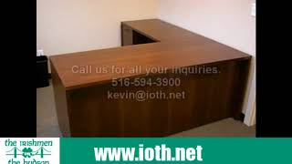 Indiana Furniture Executive Desk Installation in Yonkers, NY