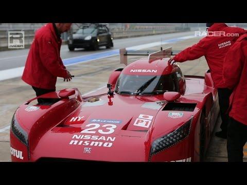 RACER: Nissan GT-R NISMO LMP1 CoTA B Roll
