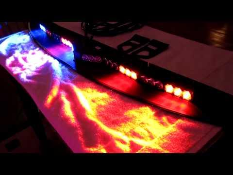 Code 3 LED Supervisor Interior Lightbar Strobe Flash