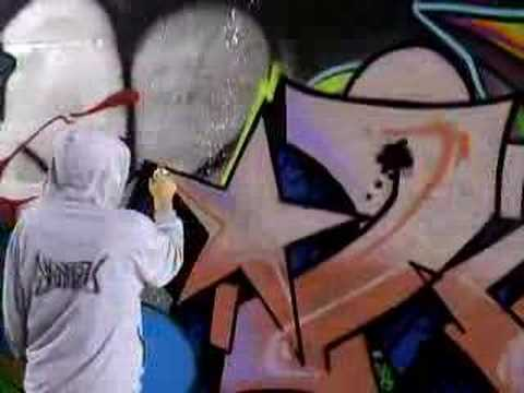 KEEP SIX - SEEKZ - KAMIT graff graffiti bombing SURREY BC CANADA Video