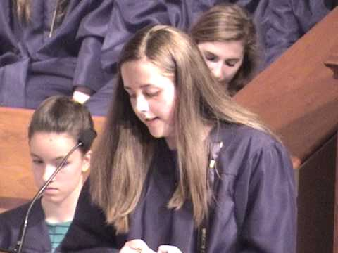 Wheaton Christian Grammar School Commencement 2013 - Part 1