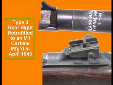 How to Identify an Original M1 Carbine, Part 1, Receivers, Types, Markings, Characteristics