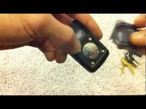 Gen2 '04-'09 prius key fob battery replacement