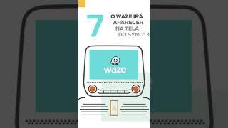 Como espelhar o Waze no Sync 3 com o iPhone