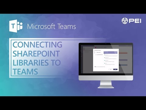 Microsoft Teams | PEI - Connecting SharePoint Document Libraries