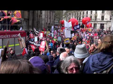 National March for Health, Homes, Jobs and Education in London