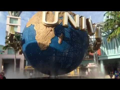 Universal Studios Singapore Globe in Singapore