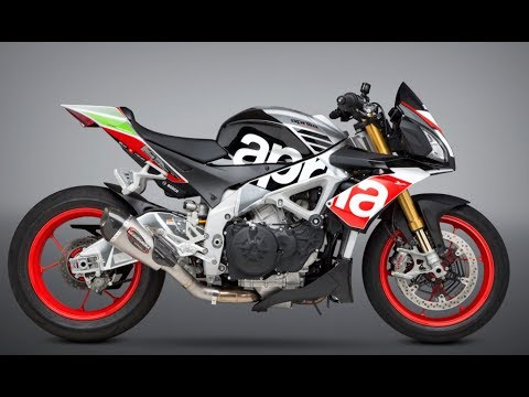 2017 Aprilia Tuono V4 sound- Stock vs. Yoshimura Alpha T Slip-on