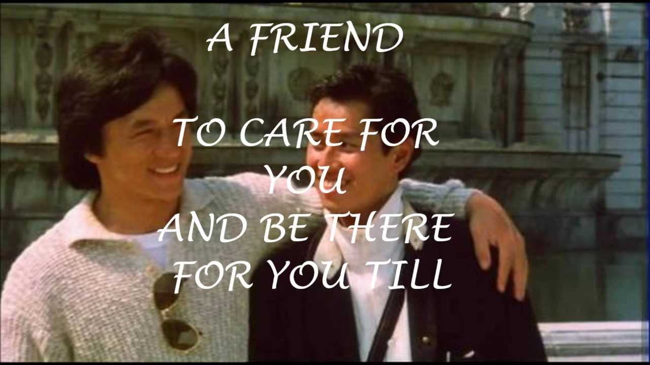 Friends Jackie Chan La...