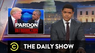 The Daily Show with Trevor Noah - Donald Trump Visits the White House