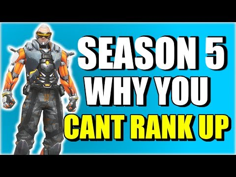 The ACTUAL Reason You CAN'T RANK UP in Overwatch