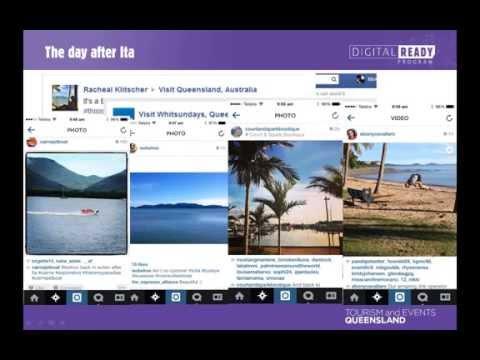 Digital Ready Webinar - Responding to Cyclone Ita through Social Media