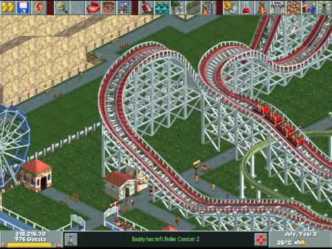 Let's Play Rollercoaster Tycoon 11 - Typical Filler Video
