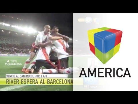 River sufrió, derrotó al Sanfrecce en el debut y sueña con el Barcelona