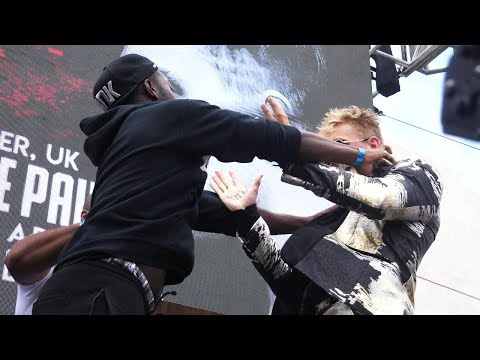 FIGHTING JAKE PAUL AT THE PRESS CONFERENCE