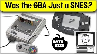 Was the Gameboy Advance Just a Super Nintendo? [Byte Size] | Nostalgia Nerd